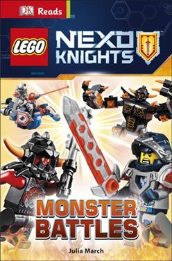 DK Readers: LEGO® NEXO KNIGHTS™ Monster Battles (An Reflection)